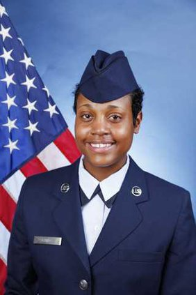 Ashley Banks military photo