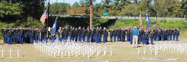 VD Cadets-crosses