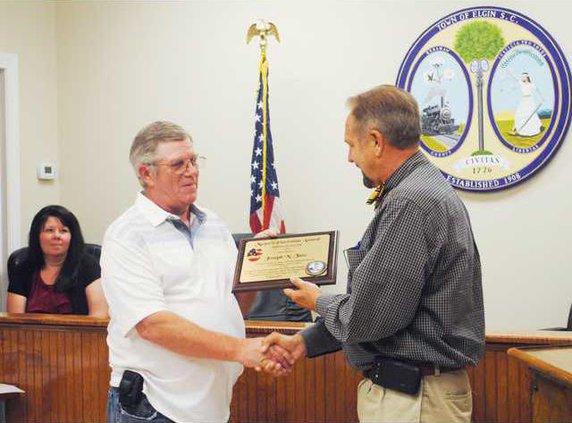Elgin Town Council award