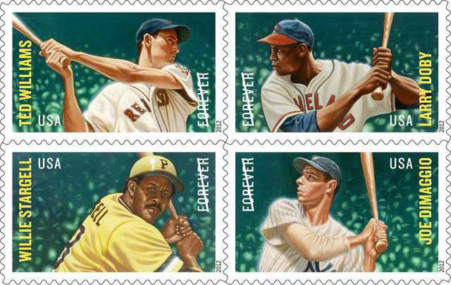 MLB All Stars block of four