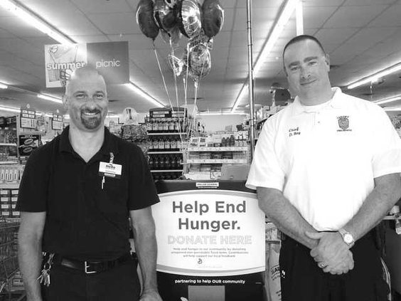 LFD food drive grayscale