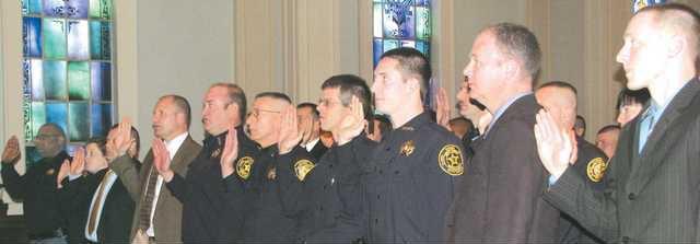 Deputies swearing T