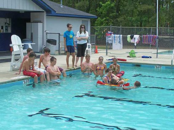 Lifeguard Training 2011 - 3