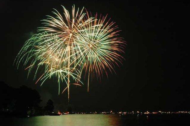 Fireworks Lake Wateree