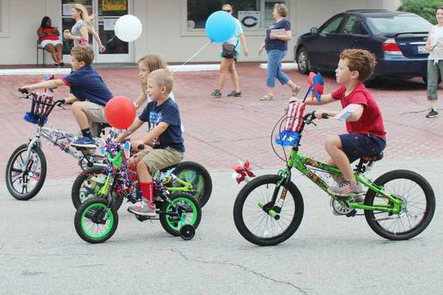 Kids Parade - Bicycles Web