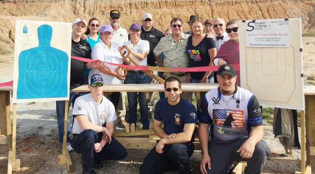 Ribbon Cutting 4 - Sandhill Shooting Sports Web
