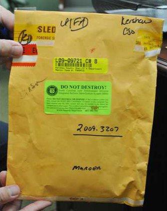 Bullets - envelope