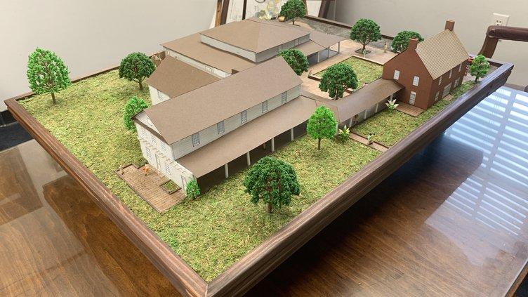 Visitors Center Model (Web)