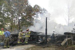 Cassatt House Fire